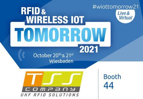 Visit us at RFID & WIRELESS IOT TOMORROW 2021